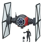 Star Wars Episode VIII véhicule avec figurine 2017 First Order Special Forces TIE Fighter