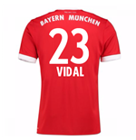 Maillot de Football Bayern Munich Home 2017-2018 (Vidal 23)