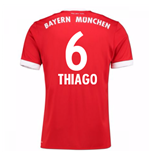 Maillot de Football Bayern Munich Home 2017-2018 (Thiago 6)