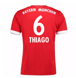 Maillot de Football Bayern Munich Home 2017-2018 (Thiago 6) - Enfants