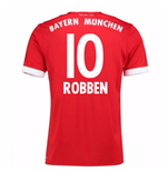 Maillot de Football Bayern Munich Home 2017-2018 (Robben 10) - Enfants