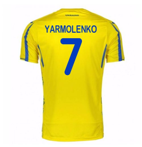 Maillot 2017/18 Foot Ukraine 2017-2018 Home