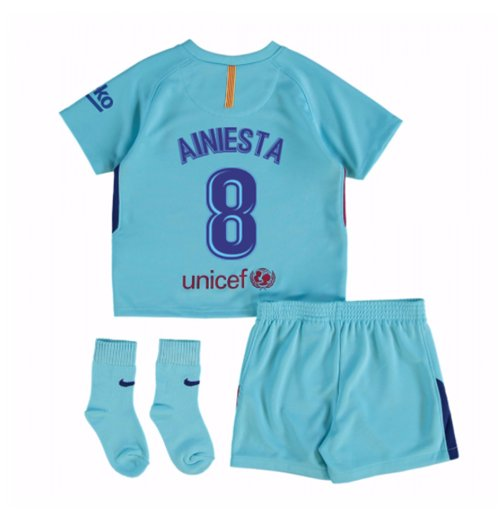 Tenue de football pour enfant FC Barcelone 2017-2018 Away