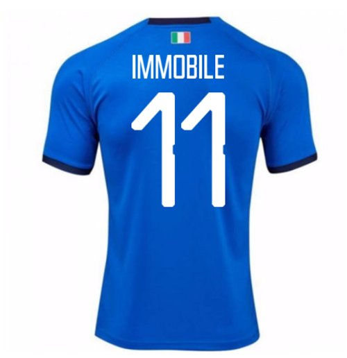 Maillot Italie Home Puma 2018-2019 (Immobile 11) - Enfants