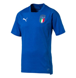 T-shirt Italie Football 2018-2019 (bleue)