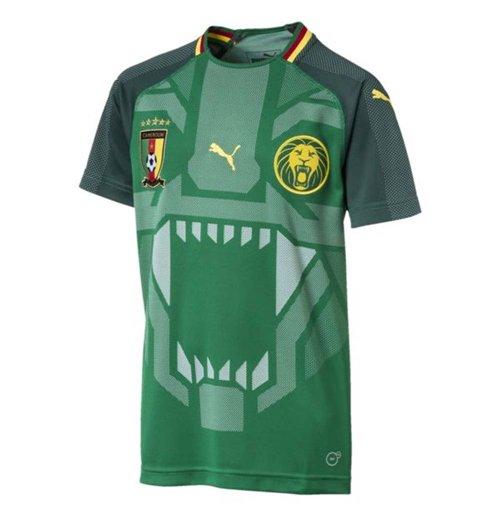 Maillot de Football Cameroun Puma Home 2018-2019 (Enfants)