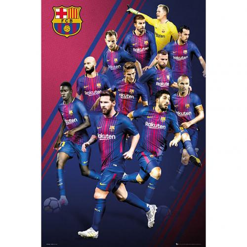 Poster FC Barcelone 281554