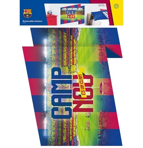 Autocollants Muraux Fc Barcelone Produits Officiels 2017