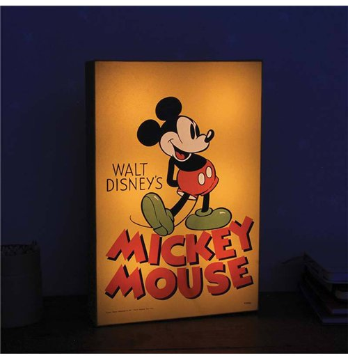 mickey mouse veilleuse toy box 30 cm pour seulement 36 99 sur merchandisingplaza. Black Bedroom Furniture Sets. Home Design Ideas
