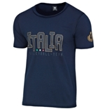 T-shirt Italie Volleyball (Bleu)