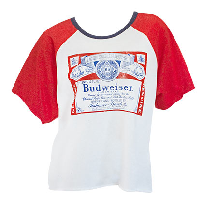 T-shirt Budweiser - Fighter