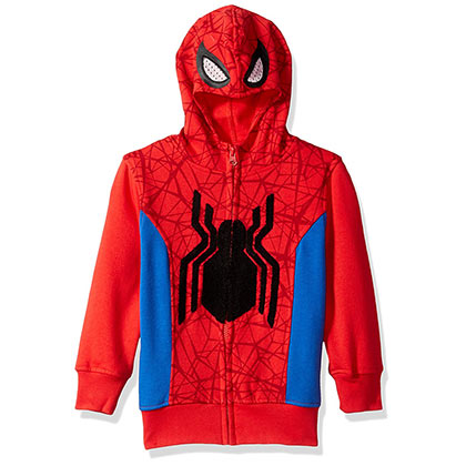 Sweat à Capuche Costume Spiderman