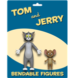 Tom & Jerry pack 2 figurines flexibles Tom & Jerry 6 - 15 cm