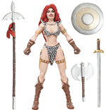 Red Sonja figurine flexible She-Devil with a Sword 14 cm