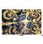 Poster Doctor Who - Exploding Tardis
