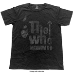 T-shirt The Who: Max R&B (Vintage Finish)