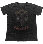 T-shirt Guns N' Roses: Appetite Cross (Vintage Finish)