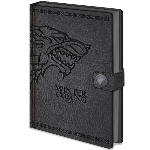 Cahier Le Trône de fer (Game of Thrones) - Stark
