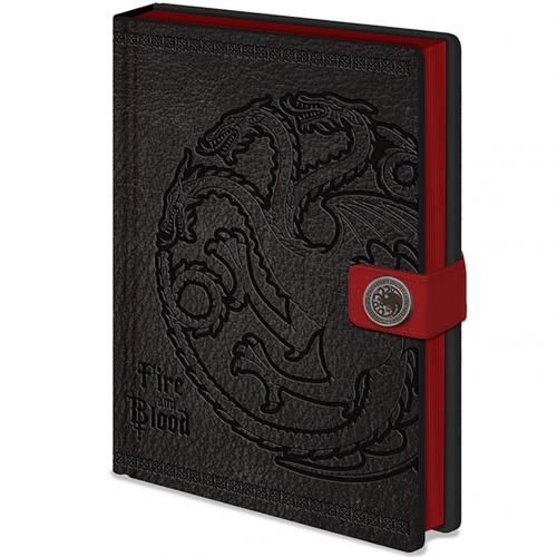Cahier Le Trône de fer (Game of Thrones) - Targaryen