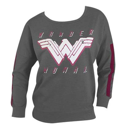 Sweat-shirt Wonder Woman pour femme
