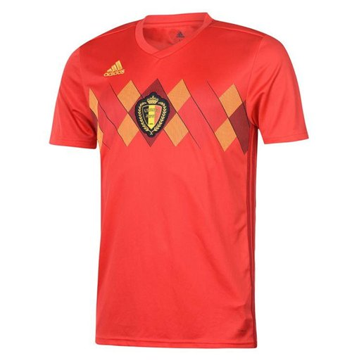Maillot de Football Belgique Adidas Home 2018-2019