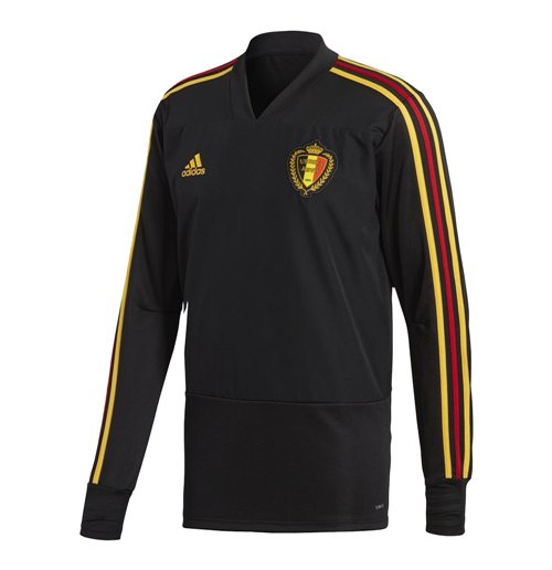 Sweat-shirt Belgique Football 2018-2019 (Noir)