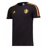 T-shirt Belgique Football 2018-2019 (Noir)