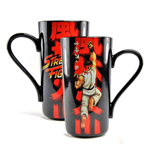 Street Fighter mug Latte-Macchiato Ryu