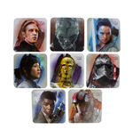 Star Wars Episode VIII pack 8 sous-verres