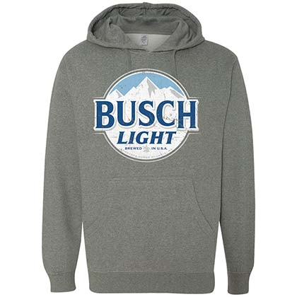 Sweat-shirt à Capuche Busch Light - Logo