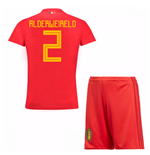 Tenue de football pour enfant Belgique Football 2018-2019 Home