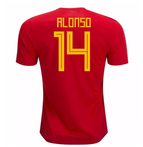 Maillot 2018/19 Espagne Football 2018-2019 Home
