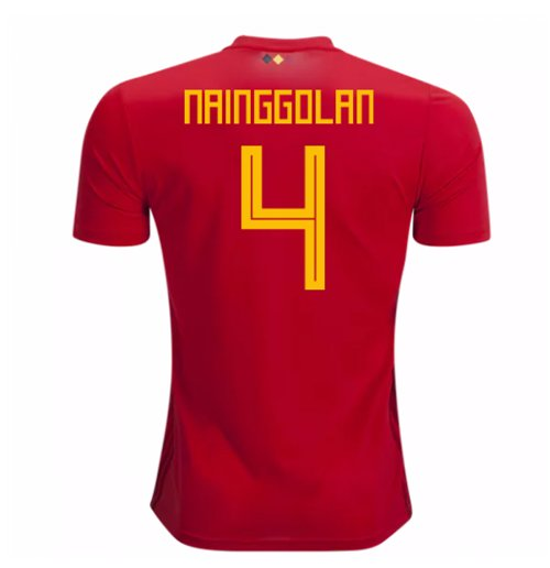 Maillot de Football Belgique Adidas Home 2018-2019 (Nainggolan 4) - Enfants