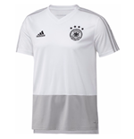 T-shirt Allemagne Football 2018-2019 (Blanc)