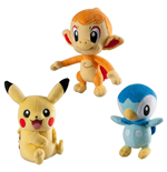 Pokemon Trainer's Choice assortiment peluches 20 cm C6 (6)