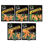 Alien assortiment pack figurines MUSCLE 4 cm (5)