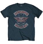 T-shirt Aerosmith pour homme - Design: Boston Pride