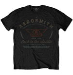 T-shirt Aerosmith pour homme - Design: Back in the Saddle