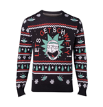 Pull de Noël Rick and Morty - Let's Get Schwifty