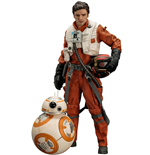Star Wars Episode VII pack 2 statuettes 1/10 PVC ARTFX+ Poe Dameron & BB-8 7 - 18 cm