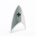 Star Trek Discovery réplique 1/1 Starfleet badge Medical Division magnétique