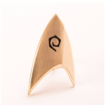 Star Trek Discovery réplique 1/1 Starfleet badge Operations Division magnétique