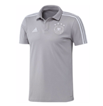 Polo Allemagne Football 2018-2019 (Gris)