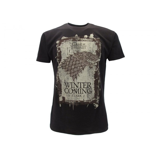 T-shirt Le Trône de fer (Game of Thrones) - Winter Is Coming