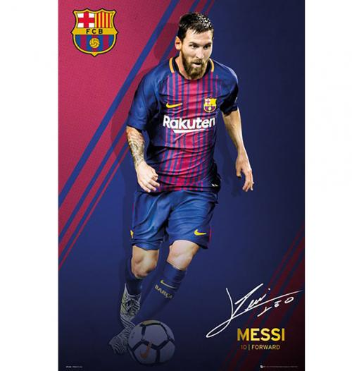 Poster FC Barcelone - Messi