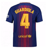 Maillot 2017/18 FC Barcelone 2017-2018 Home