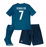 Tenue de football pour enfant Real Madrid 2017-2018 Third