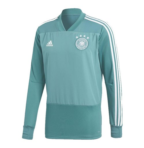 Sweat-shirt Allemagne Football 2018-2019 (Vert)