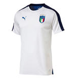 T-shirt Italie Football 2018-2019 (Blanc)