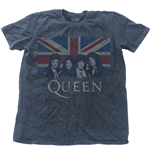 T-shirt Queen - Vintage Union Jack